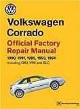 Volkswagen Corrado Official Factory Repair Manual, 1990-1994, Volkswagen United States Inc. Staff, 0837603870