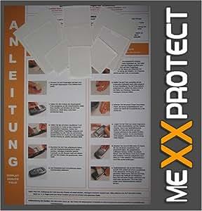 6x mexxpro tect UltraClear-Protector de pantalla para Casio Exilim Z55, cámara