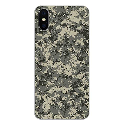 Colorful Army Camo Camouflage Skin pop Art Silicone Phone Shell Cover for iPhone 4 4S 5 5S 5C SE 6 6S 7 8 X XR XS Plus MAX,Images 4,for iPhone XR (Ipod Touch 4 Gameboy Case)