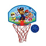 """Nickelodeon Paw Patrol 13.5 X 10"""" Basketball Set """"Ball, Hoop, Net & Door Hanger"""""""
