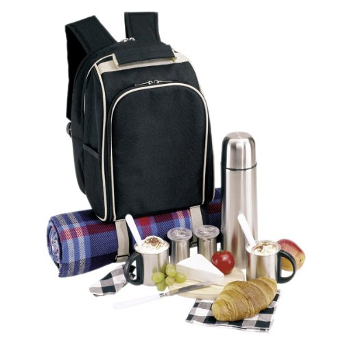 Picknickrucksack-Rucksack-Picknicktasche-Tasche-Freizeitrucksack-gefllt-fr-2-Personen-Nr-09-2