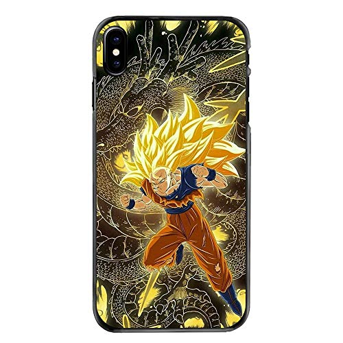 Dragon Ball Z Super Saiyan God Son Goku Hard Phone Case Housing for iPhone SE,for Apple iPhone 5S,for Apple iPhone 5 (Dragon Ball Z Iphone Case 5s)