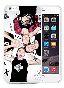 Newest iPhone 6 Plus/iPhone 6S Plus TPU Screen Case ,Unique And Fashionable Designed Case With 5sos White iPhone 6 Plus/iPhone 6S Plus 5.5 Inch TPU Phone Case