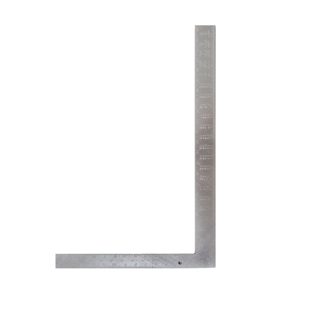 Swanson Tool TA127 Thick One Heavy Duty Aluminum Rafter Square 16 Inch X 24 Inch