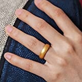 ThunderFit Silicone Rings Wedding Bands for Women 4 Pack