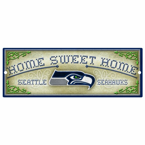 NFL Seattle Seahawks 6-by-17 Wood