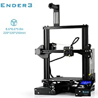 SainSmart Creality Ender-3 3D Printer Machine for Home School Industry Use, with Resume Printing V-slot Prusa I3, Build Volume 220x220x250mm from SainSmart