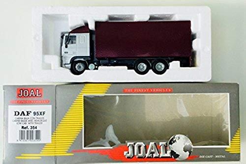 JOAL JOAL JOAL 354 Modell LKW DAF 95 x F Niedrig Kabine mit Trailer 476b01