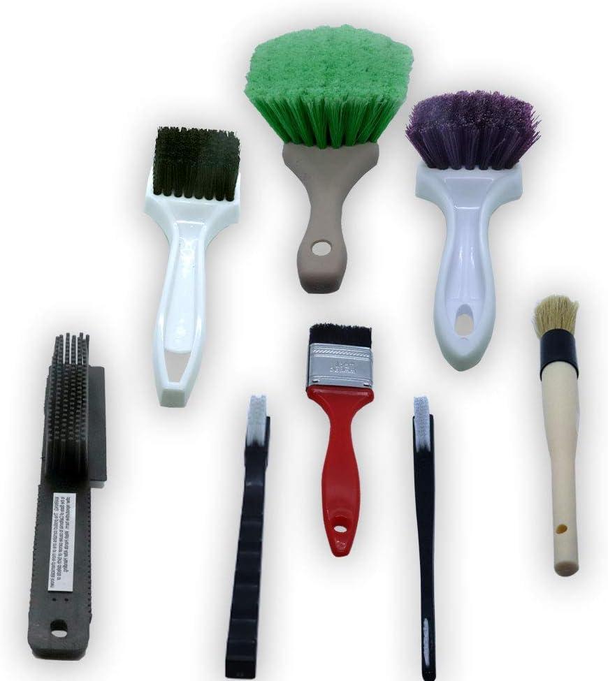 Multifunctional Detail Brush Cleaning Brush for Car Interior Home Use Kitchen Exterior Interior Panels 3pcs Soft Detailing Brush