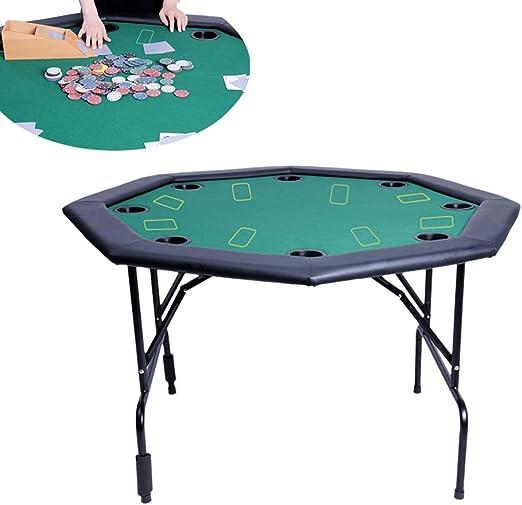 Actualización versión 8 jugadores Mesa poker plegable - con rieles ...