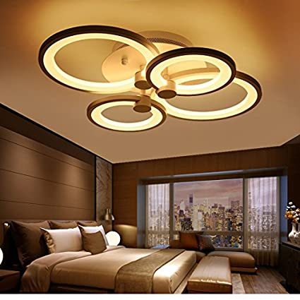 Luces de techo $ Anillo Lámpara De Techo Diseño Moderno ...