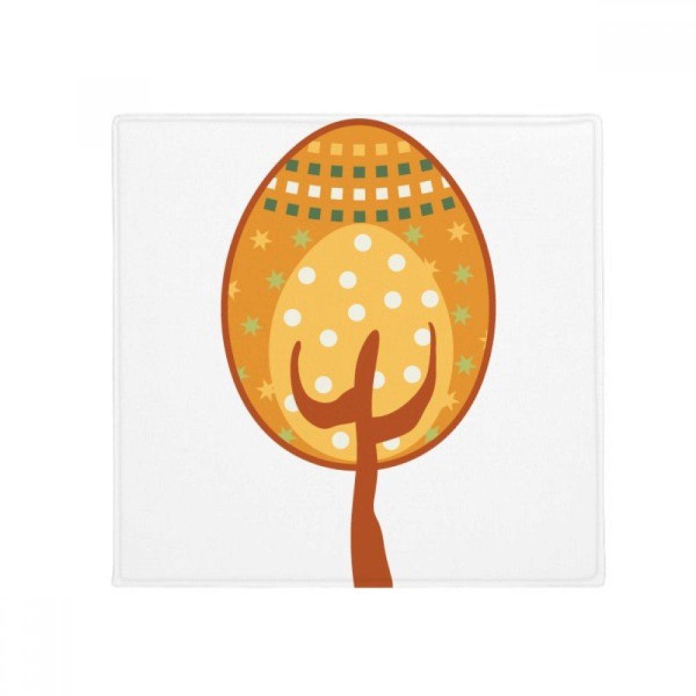 DIYthinker Easter Festival Yellow Egg Tree Anti-Slip Floor Pet Mat Square Home Kitchen Door 80Cm Gift