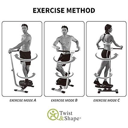 BestofTv Twist & Shape el Aparato de Fitness Que Permite modelar el Cuerpo fácilmente – Anunciado en la Tele