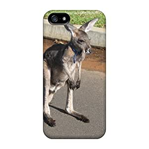 For Iphone Case, High Quality Kangaroo In Suburbia For Iphone 5/5s Cover Cases