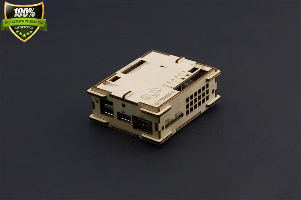 Plywood Case For Lattepanda Solid Aviation Multilayer Board Materials The Perfect Interface Design And Annotation Are Convenient To Connect The USB HDMI SD Card GPIO Interface