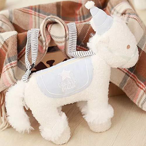 BAONZEN Ins Neto Rojo Unicornio muñeca Creativa Coreano ...