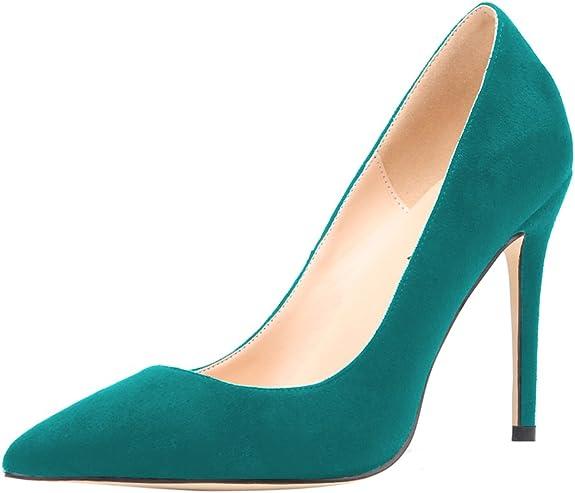 TALLA 40 EU Estrecho. Aooar - Zapatos de piel para mujer
