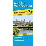 Frankfurt - Main - Spessart: Radwanderkarte mit Ausflugszielen, Einkehr- & Freizeittipps, wetterfest, reissfest, abwischbar, GPS-genau. 1:100000 (Radkarte / RK)