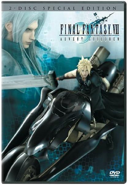 Amazon Com Final Fantasy Vii Advent Children Two Disc Special