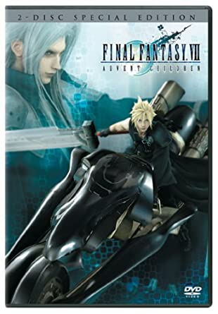 Amazon com: Final Fantasy VII - Advent Children (Two-Disc