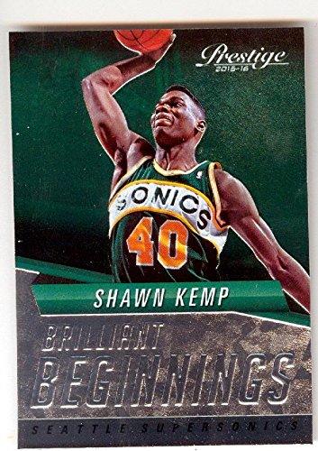 afd9ccd9a808b Shawn Kemp basketball card (Seattle Sonics TGT16J) 2015 Prestige #20 ...