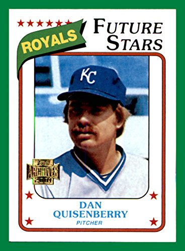 - 2001 Topps Archives #325 Dan Quisenberry 1980 KANSAS CITY ROYALS