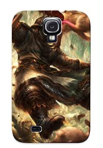 Appearance Snap-on Case Designed For Galaxy S4- Dragon Crown(best Gifts For Lovers)