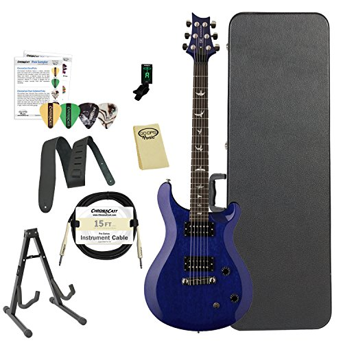 Paul Reed Smith Guitars ST22TB-Kit02 PRS SE Standard 22 Translucent Blue Electric (Gibson Les Paul Standard Bass)