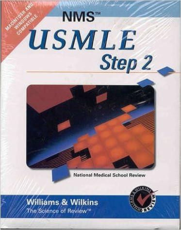 Nms Usmle Step 2 CD-ROM Windows & Macintosh