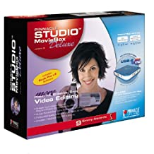 Moviebox Deluxe W/ Studio Plus Analog/Digital Capture Via Usb2