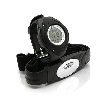 Pyle PHRM38 Reloj Digital pulsómetro, Unisex, Negro