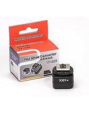 Pixel di TF 326Hot Shoe adattatore per flash da studio con PC Sync presa per Canon