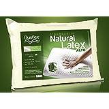 Travesseiro Natural Látex, Duoflex, 100% Algodão, Branco, 50Cmx70Cm