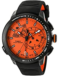Timex Mens TW2P73100DH Intelligent Quartz Collection Watch with Black Band