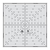 Quilting Template and Ruler 14.5 Inch Square it