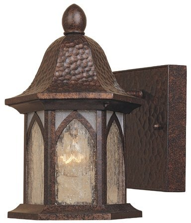 Designers Fountain 20601-BAC Berkshire 5'' Wall Lantern by Designers Fountain