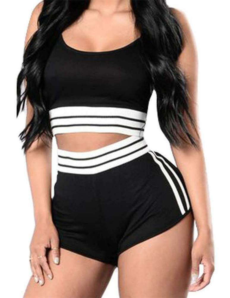 XXSPU Sportbekleidung Damen-Sportbekleidung Trainingssportbekleidung Kurzarm-T-Shirt Shorts Laufanzüge Damen-Shorts