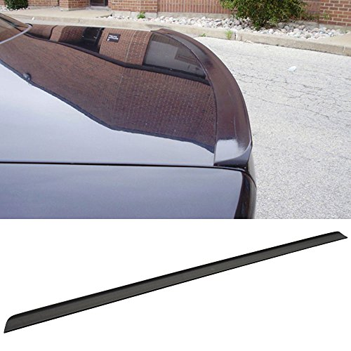 Trunk Spoiler Fits 2005-2009 VW Passat B6 Mk6 | Unpainted Black PUF Rear Tail - Other Color Available Rear Roof Tail Spoiler Wing by IKON MOTORSPORTS | 2006 2007 2008 - Passat Wagon Tdi