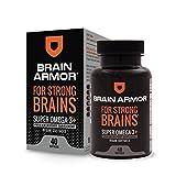 Cheap Brain Armor – Super Omega-3 Vegan Softgel Capsules – 1,283 mg of Omega-3s