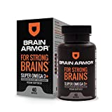 Brain Armor - Super Omega 3 Vegan Softgel, +1000mg