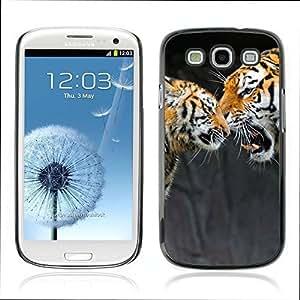 Teléfono PC carcasa 757 Samsung Galaxy S3 i9300 tigre patrón