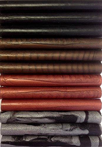 Gothic Assortment Flexible Glue Gun Sealing Wax - 12 Sticks