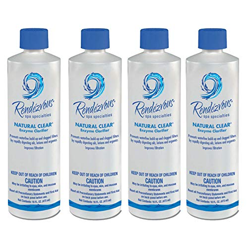 Rendezvous Spa Specialties Natural Clear (1 pt) (4 Pack) ()