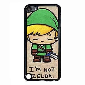 Fashion Game Logo Case The Legend Of Zelda Majora'S Mask Logo funda For iPod Touch 5th Case