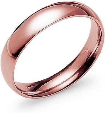 Nine2Five 925 Sterling Silver Wedding Ring Full /& Half Sizes 5-14 High Polished Plain 3mm Comfort Band