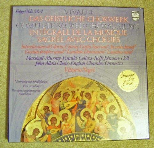 Vivaldi: Complete Sacred Choral Music, Vols. 3 & 4