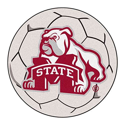 (FANMATS NCAA Mississippi State University Bulldogs Nylon Face Soccer Ball)