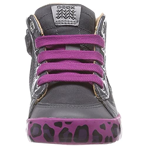 Geox B Kiwi Girl B - Zapatillas de Running de Cuero Bebé-Niños Outlet b74e42ededd