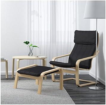 Amazon.com: Ikea Poang silla sillón y reposapié ...