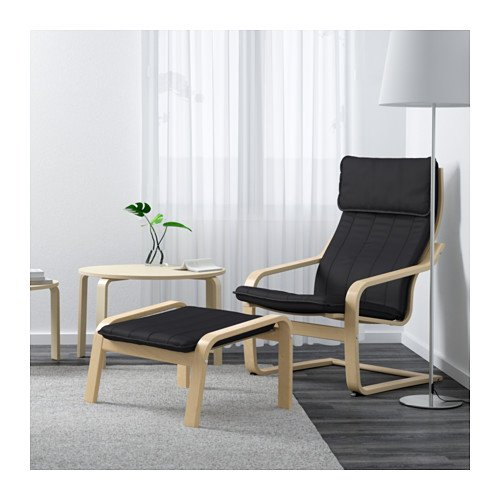 Awe Inspiring Ikea Poang Chair Armchair And Footstool Set With Covers Gmtry Best Dining Table And Chair Ideas Images Gmtryco